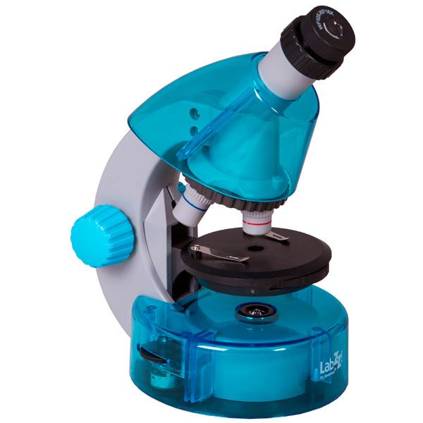 Микроскоп Levenhuk LabZZ M101 Azure микроскоп levenhuk labzz m101 orange 69730
