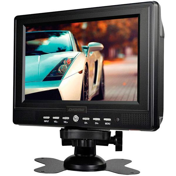 Автомобильный ЖК-телевизор Digma DCL-700 автомобильный телевизор digma dcl 1020 10 1 черный