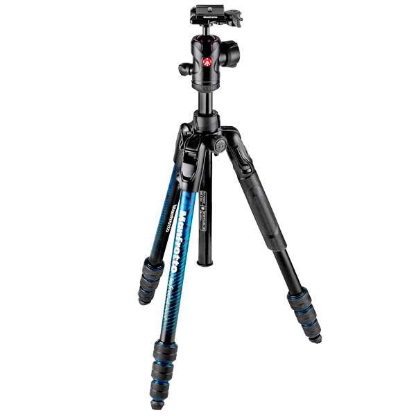 Штатив премиум Manfrotto Befree Advanced Travel Twist Blue (MKBFRTA4BL-BH)