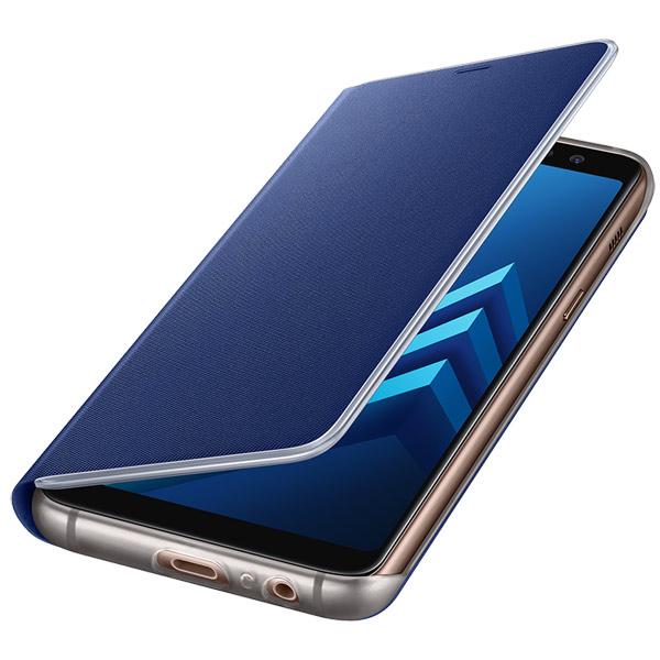 Чехол Samsung Neon Flip Cover д/ Galaxy A8 (2018), Blue