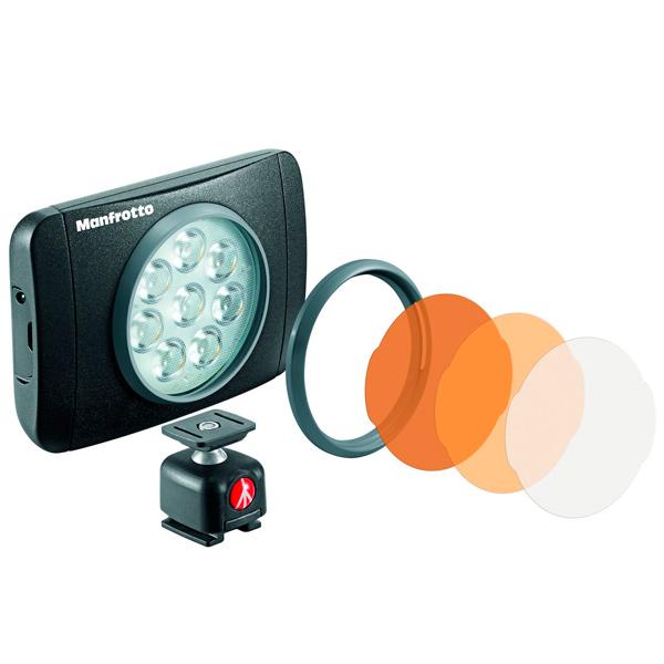 LED осветитель Manfrotto Осветитель LED Lumie Muse (MLUMIEMU-BK)