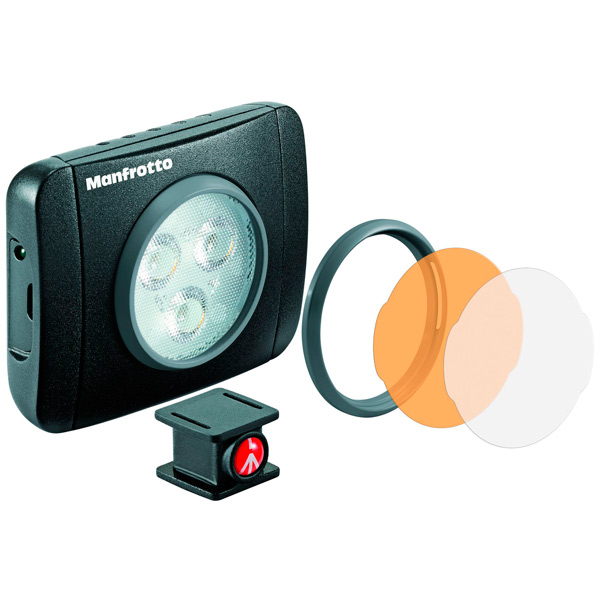 LED осветитель Manfrotto Lumie Play (MLUMIEPL-BK) цвет 5600