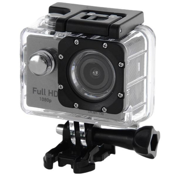 Видеокамера экшн Digma DiCam 150 серый