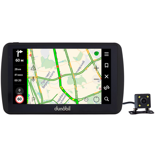 Портативный GPS-навигатор Dunobil Photon 7.0 Parking Monitor (LLONCBF)