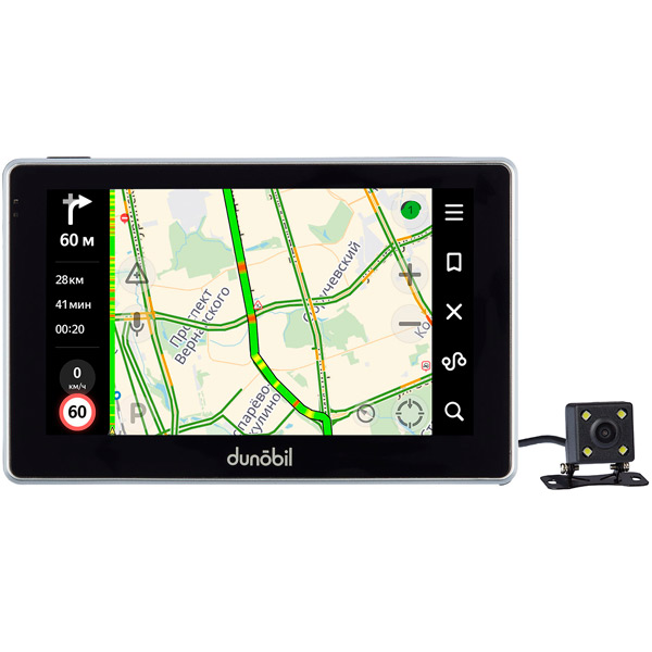 Портативный GPS-навигатор Dunobil Stella 5.0 Parking Monitor (USBCTTW)