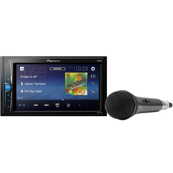 Купить MVH-A101V-K, USB-Автомагнитола c встроенным монитором Pioneer