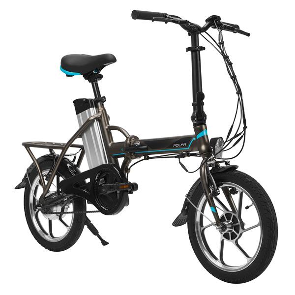 Электрический велосипед Polar PBK 1601 Grey/Blue