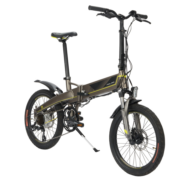 Электрический велосипед Polar PBK 2007S Grey/Yellow
