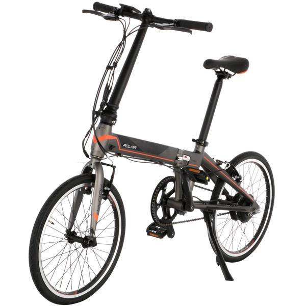 Электрический велосипед Polar PBK 2001SL Grey/Orange