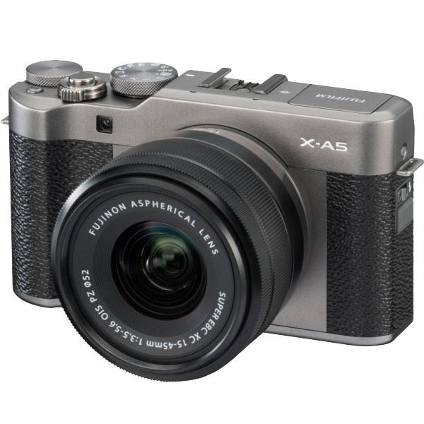 Фотоаппарат системный Fujifilm X-A5 Kit 15-45 F3.5-5.6 Dark Silver