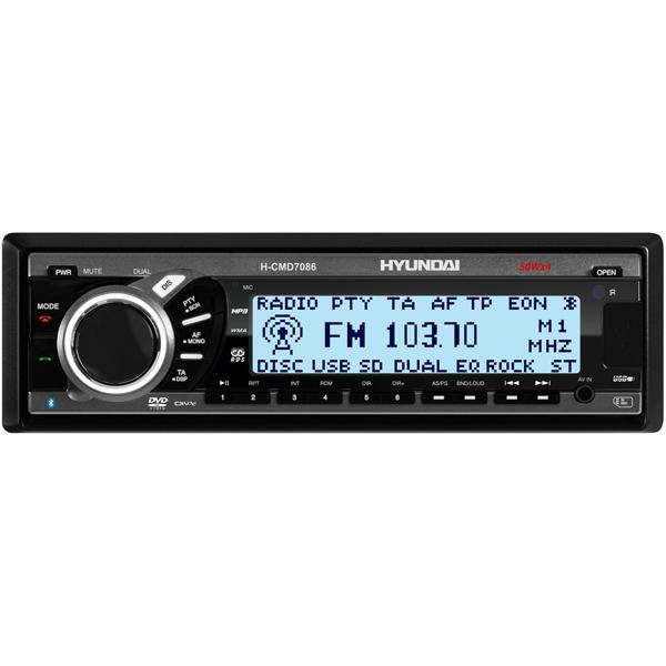 Автомобильная магнитола с DVD Hyundai H-CMD7086