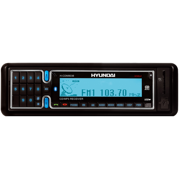 Автомобильная магнитола с CD MP3 Hyundai H-CDM8036
