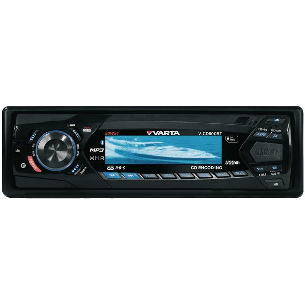 Автомобильная магнитола с CD MP3 Varta V-CD600BT