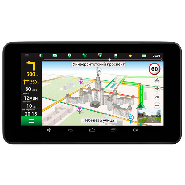 Портативный GPS-навигатор Navitel RE900 Full HD