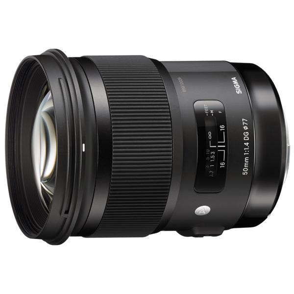 Объектив для зеркального фотоаппарата Sony Sigma, 50mm f1.4 DG HSM Art Sony E  - купить со скидкой