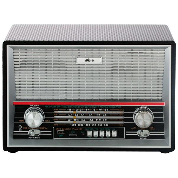 Радиоприемник Ritmix — RPR-102 Black
