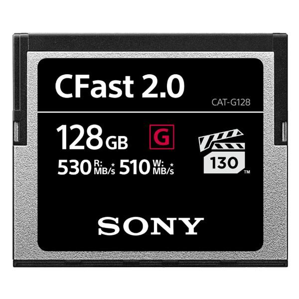 Карта памяти XQD Sony 128GB CFAST 2.0 (CAT-G128)