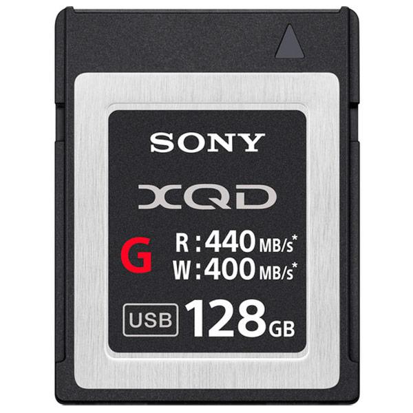 Карта памяти XQD Sony 128GB 440R/420W (QDG128E)