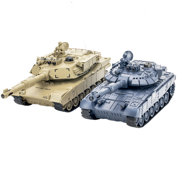Радиоуправляемый танковый бой 1:24 Pilotage 1:24 T90 vs M1A2 (RC18384)