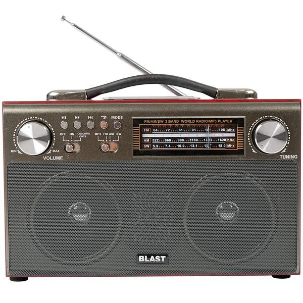 Радиоприемник Blast — BPR-812 Black