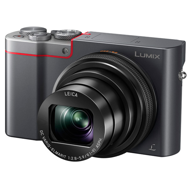 Фотоаппарат компактный Panasonic — Lumix TZ100 Silver (DMC-TZ100EE-S)