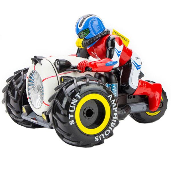 Радиоуправляемый мотоцикл Pilotage Мотоцикл Stunt Amphibious (RC61156)