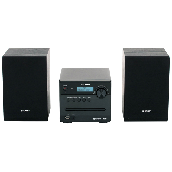 Музыкальный центр Micro Sharp XL-B515DBK