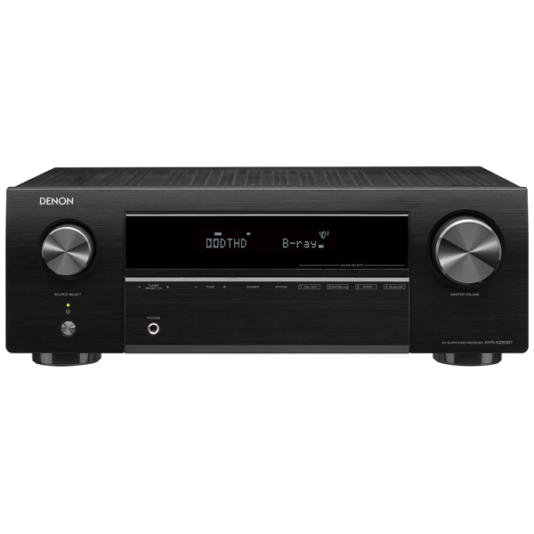 Ресивер Denon AVR-X250BT Black