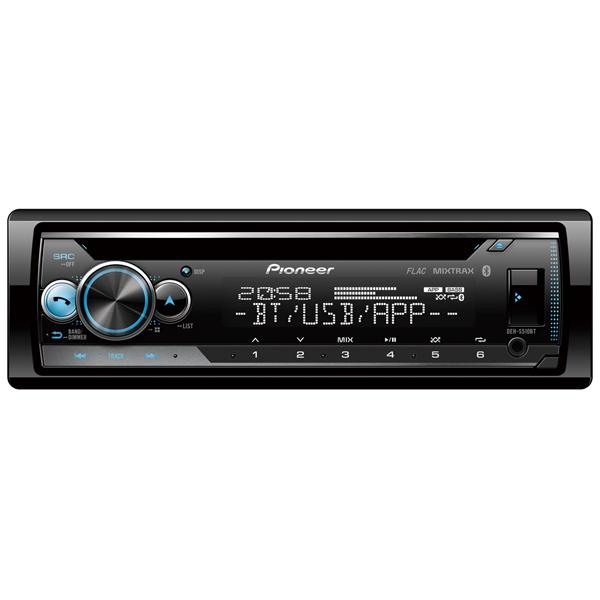 Автомобильная магнитола с CD MP3 Pioneer DEH-S510BT