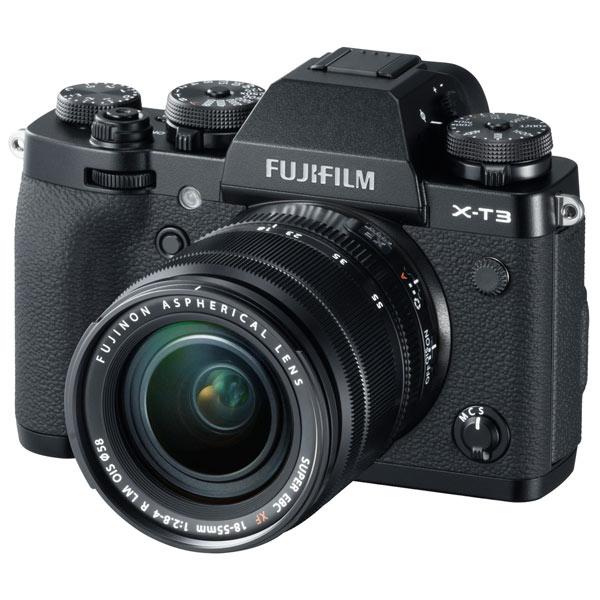 Фотоаппарат системный премиум Fujifilm — X-T3 18-55 Black