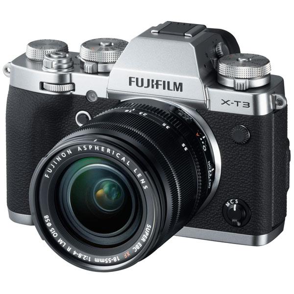 Фотоаппарат системный премиум Fujifilm X-T3 18-55 Silver