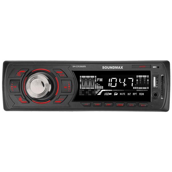 USB-Автомагнитола Soundmax SM-CCR3060FB Black R