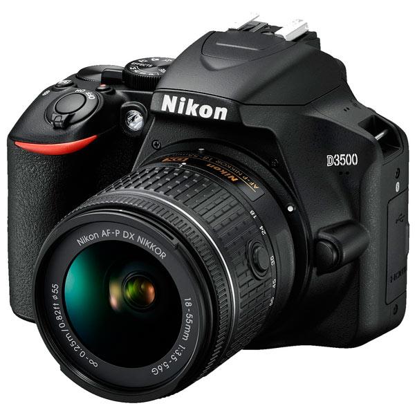 Фотоаппарат зеркальный Nikon — D3500 + AF-P 18-55 non VR