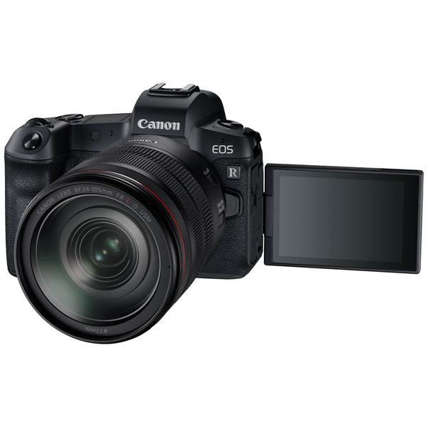 Фотоаппарат системный премиум Canon — EOS R RF 24-105 F4 L IS USM+MountAdapter EF EOS R