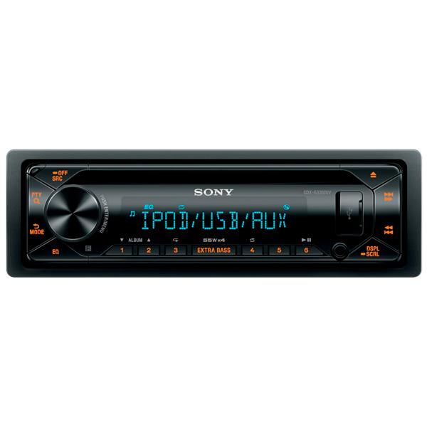Автомобильная магнитола с CD MP3 Sony CDX-G3300UV/Q