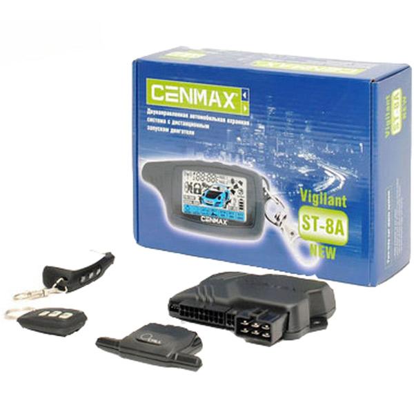 cenmax st 8a c800 сигнализация инструкция