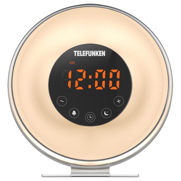 Радио-часы Telefunken TF-1596 White фото