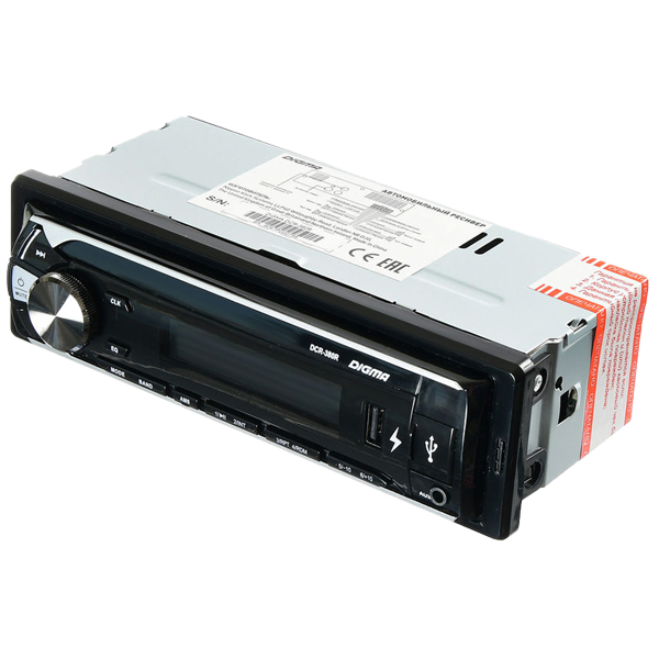 USB-Автомагнитола Digma DCR-380R