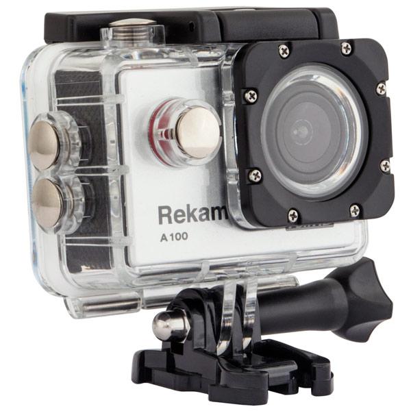 Купить Видеокамера экшн Rekam A100 в каталоге интернет магазина М.Видео по выгодной цене с доставкой, отзывы, фотографии - Москва
