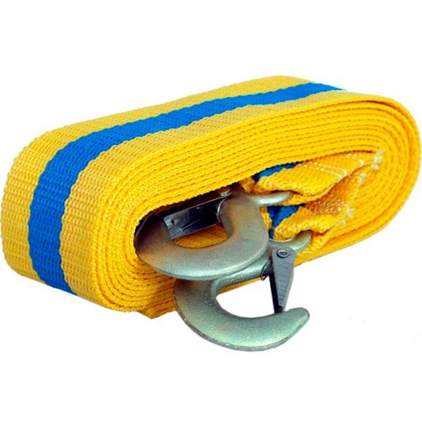Автомобильный аксессуар Goodyear Трос буксировочный 12 тонн цвет желтый/синий