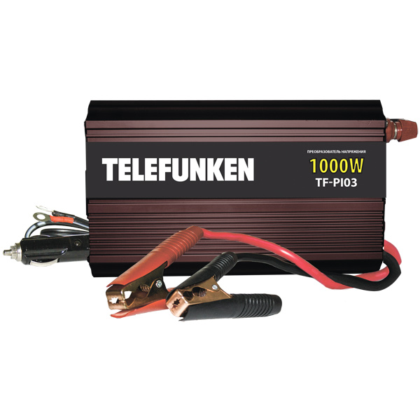 Автопреобразователь напряжения Telefunken TF-PI03