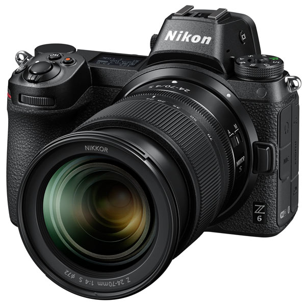 Фотоаппарат системный премиум Nikon Z 6 + 24-70 f4 Kit