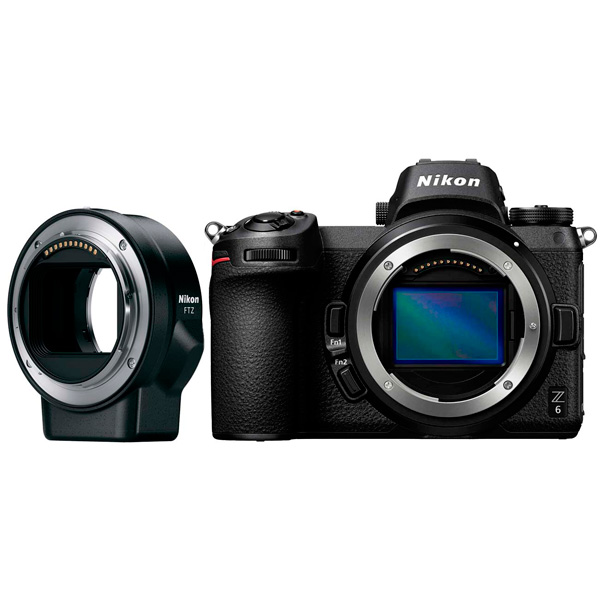 Фотоаппарат системный Nikon Z 6 + FTZ Adapter Kit