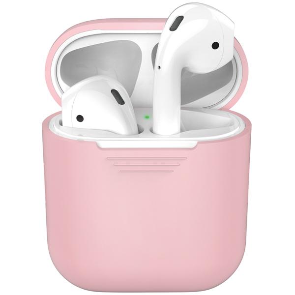 Чехол для AirPods Deppa — розовый