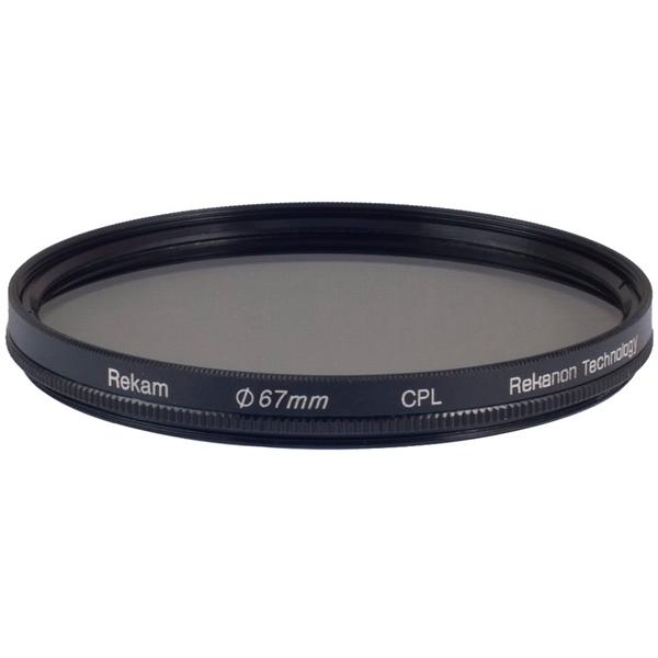 Светофильтр Rekam RF-CPL67 черного цвета
