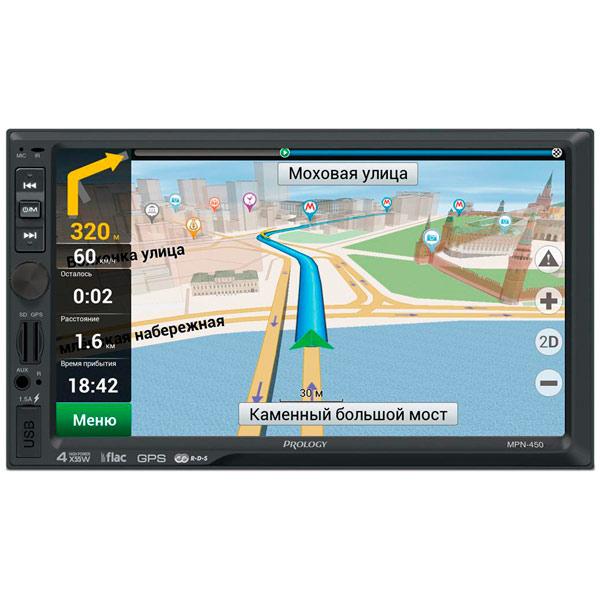 Навигационная медиа система Prology MPN-450
