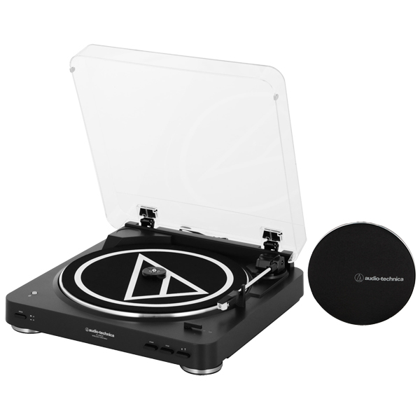 Проигрыватель виниловых дисков Audio-Technica AT-LP60SPBT-BK