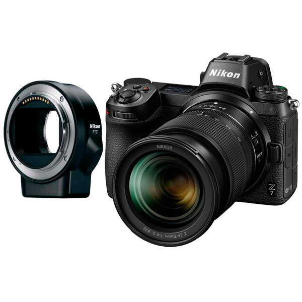Фотоаппарат системный Nikon Z7 + 24-70 f4 + FTZ Adapter Kit