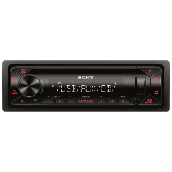 Автомобильная магнитола с CD MP3 Sony