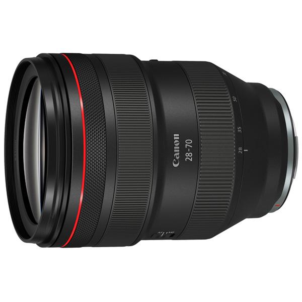 Объектив Canon RF 28-70mm f2 L USM черного цвета